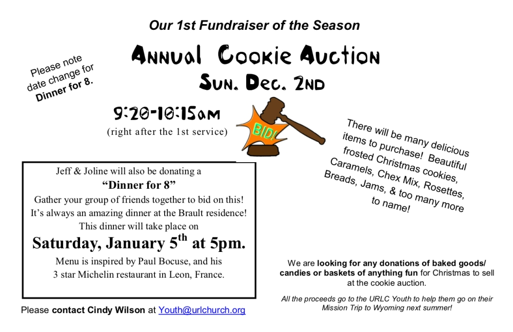 Updated Date-Cookie Auction